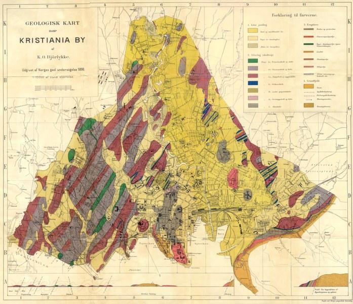 kart over konnerud Gull, gråstein og grums 2 kart over konnerud